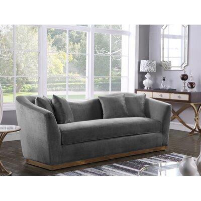 Truchanovicius Sofa Upholstery: Gray