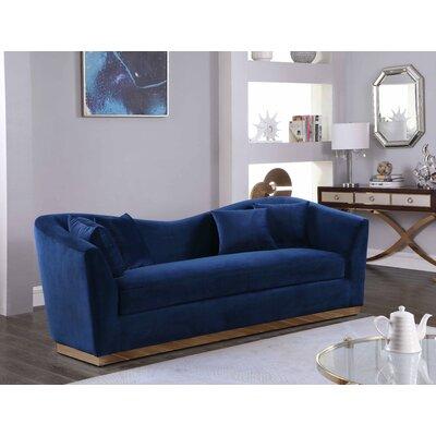 Truchanovicius Sofa Upholstery: Navy