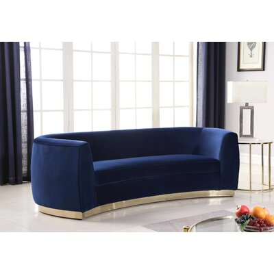 Antonsen Sofa Upholstery: Navy