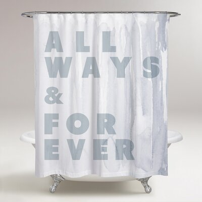 Lombardo Allways and Forever Shower Curtain