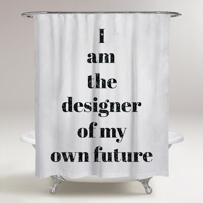 Lomawai Designer of My Future Shower Curtain