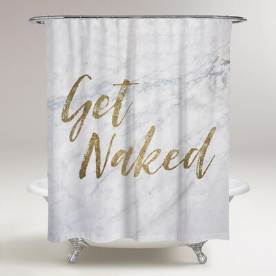Lohr Get Naked Shower Curtain