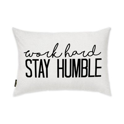 Grandison Stay Humble Lumbar Pillow