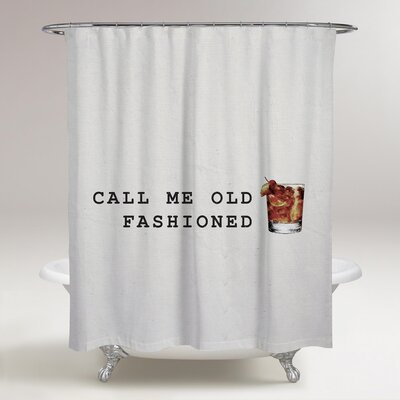 Fishel Mr. Old Fashioned Shower Curtain