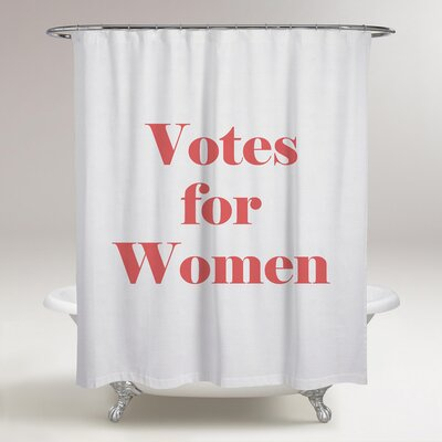Loiselle Votes for Women Shower Curtain