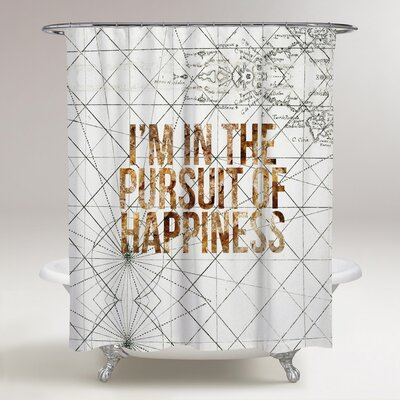 Lohmann Pursuit of Happiness Shower Curtain