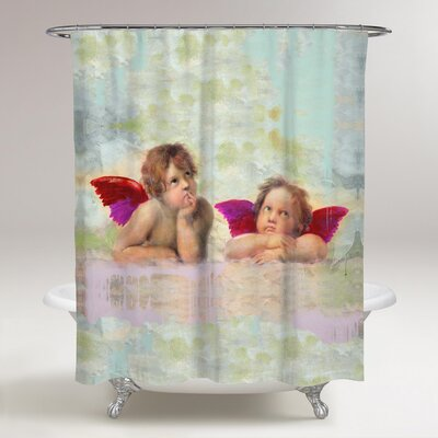 Firkins Sai Tristitia Angelus Shower Curtain