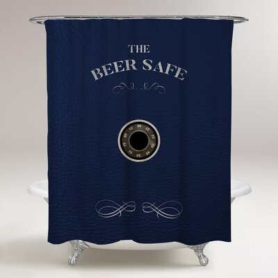 Fiorini Beer Safe Shower Curtain