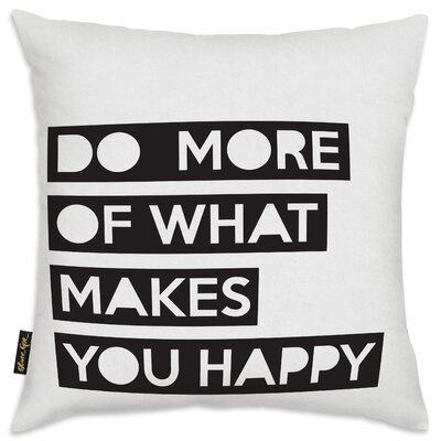 Gough Do More Throw Pillow