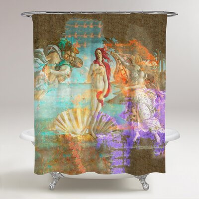 Fiqueroa Sai Vailed Venus Shower Curtain