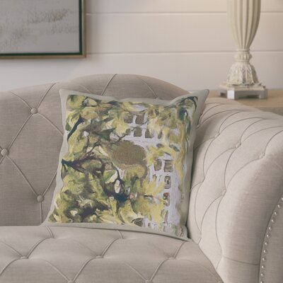 Larocco Tree Cotton Pillow Cover