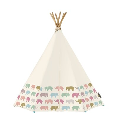 Rainbow Elephant 3 Person Tent With Led And Mat