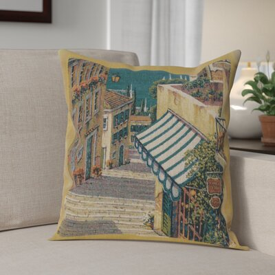 Campana Village I Cotton Pillow Cover