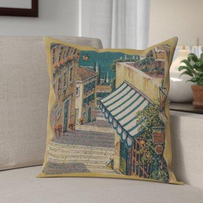 Campana Village I Cotton Pillow Cover