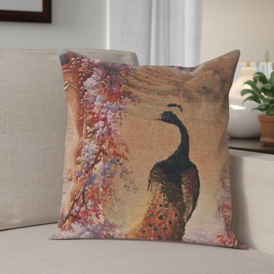 Camden Peacock 1 Cotton Pillow Cover