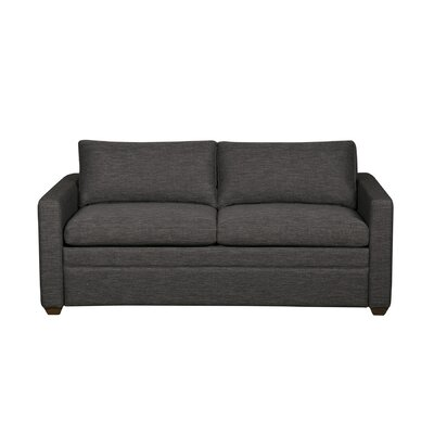Rolette Sleeper Sofa Mattress Type: Full, Upholstery: Navy Blue