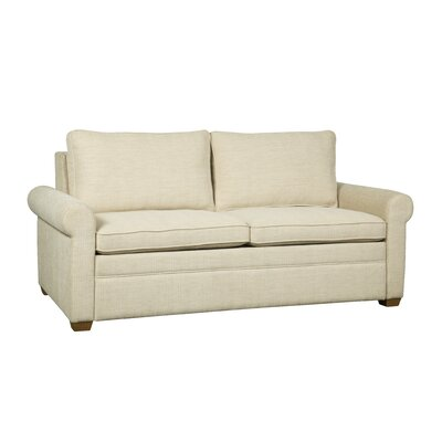Kipling Sleeper Sofa Mattress Type: King, Upholstery: White Linen