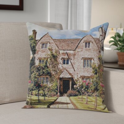 Cambell William Morris House Cotton Pillow Cover