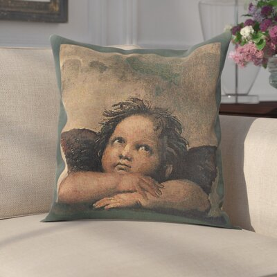 Risinger by Raffael Right Cotton Pillow Cover