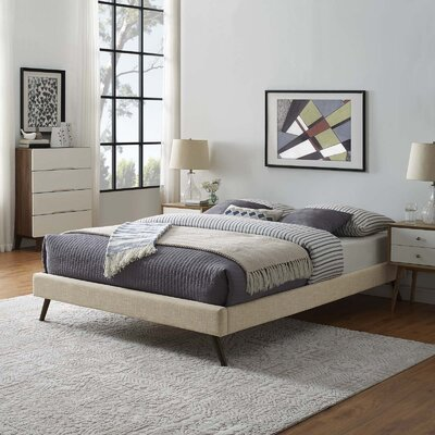 Dinwiddie Upholstered Platform Bed Size: Full