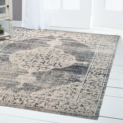 Sofia Beige/Brown Indoor/Outdoor Area Rug Rug Size: Rectangle 53 x 72