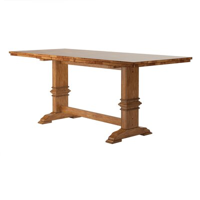 Mariotti Counter Height Extendable Dining Table Base Color: Oak