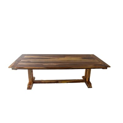 Rose Dining Table Size: 30 H x 44 W x 84 L