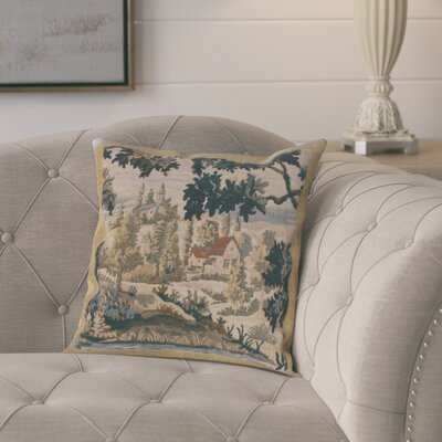 Giron Flamand Village 1 Cotton Pillow Cover