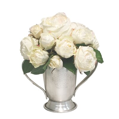 Mix Rose Centerpiece in Trophy Cup 0F5F4EB4961E4B448C6358059A0DFF2F