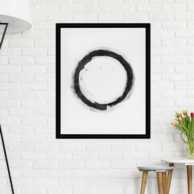 'Circle' Framed Print 78CEB992DBB14653935DE8B8B659EA32