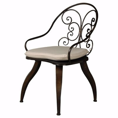 Claverton Retro Side Chair with Flared Curvy Legs