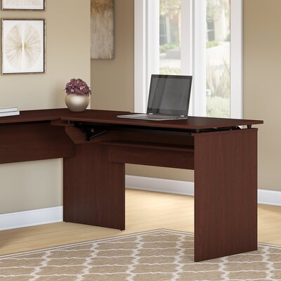 Hillsdale Height Adjustable Standing Desk Return Finish: Harvest Cherry