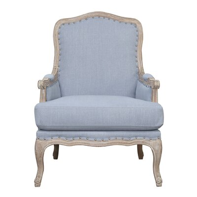 Clairan Armchair Upholstery: Light Blue