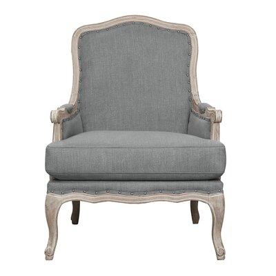 Clairan Armchair Upholstery: Slate