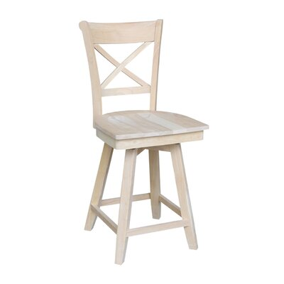 Hollaway 24 Swivel Bar Stool