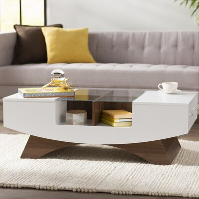 Madilynn Coffee Table Color: White