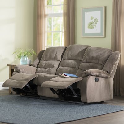 Maxine 3 Piece Living Room Set Upholstery: Light Brown
