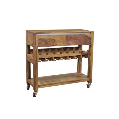 Cullen Wine Server Bar with Wine Storage