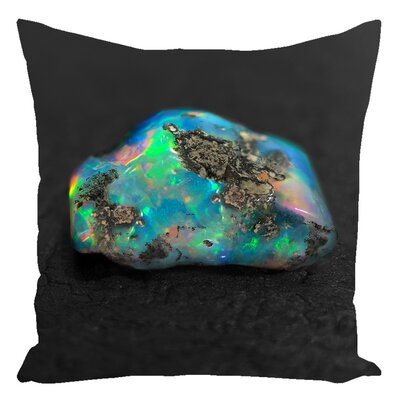 Greene Rough Opal Throw Pillow