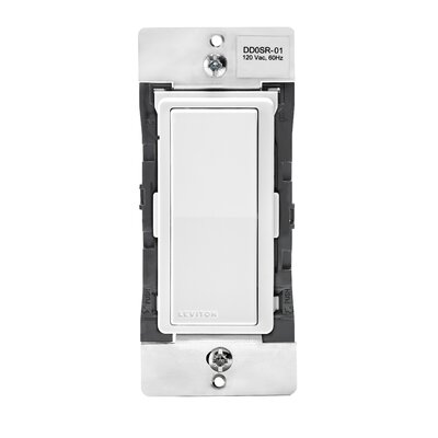 Decora Matching Switch Remote for 3 and 4 Way Circuits Wall Mounted Dimmer with Home Automation Smart Bluetooth