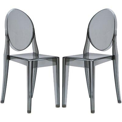 Bentlee Dining Chair Color: Smoke