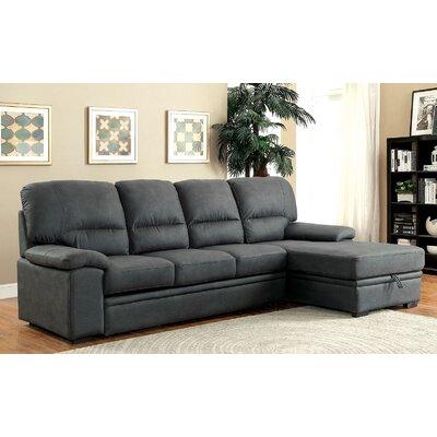 Karratha Sleeper Sectional Upholstery: Graphite