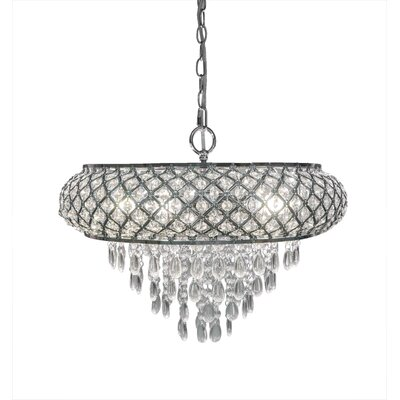 Hoang Tiered  5-Light Crystal Chandelier