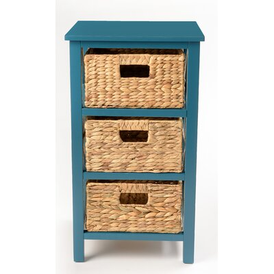 Altenpohl End Table with Storage Color: Teal