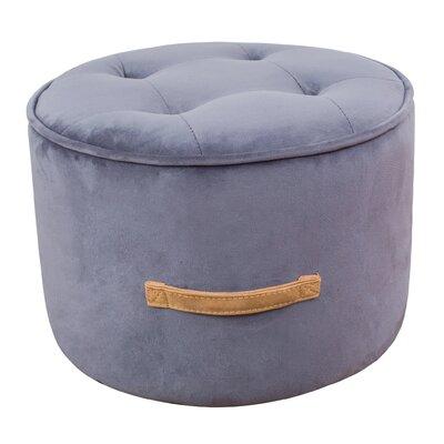Mcreynolds Pouf Upholstery: Gray