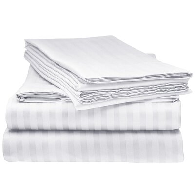 Kawakami Premium Deep Pocket Bed Microfiber Sheet Set Size: Twin, Color: White