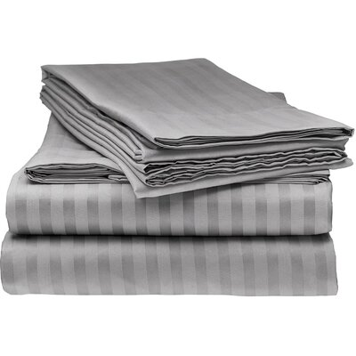 Kawakami Premium Deep Pocket Bed Microfiber Sheet Set Size: Full, Color: Grey
