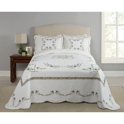 Holsey Heather Bedspread Coverlet