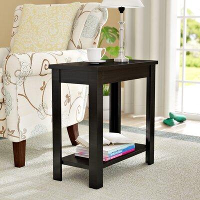 Lockheart End Table Color: Black