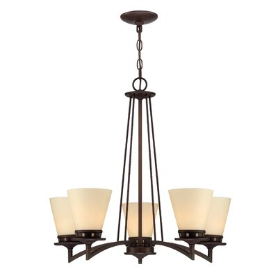 Telles 5-Light Candle-Style Chandelier